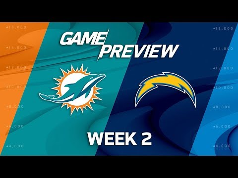 Miami Dolphins vs. Los Angeles Chargers | Week 2 Preview | NFL Playbook