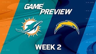 Miami Dolphins vs. Los Angeles Chargers | Week 2 Preview | NFL Playbook thumbnail