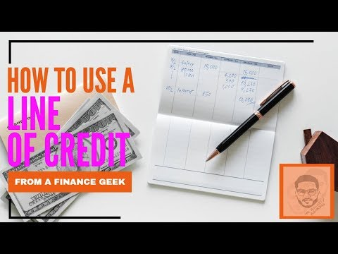 How To Use A Line Of Credit