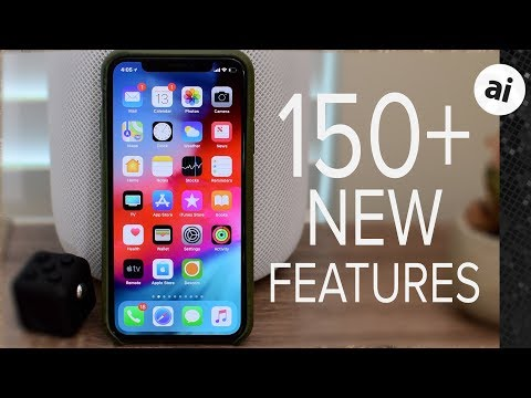 Here are over 150 new features and changes in iOS 12 for iPhone and iPad