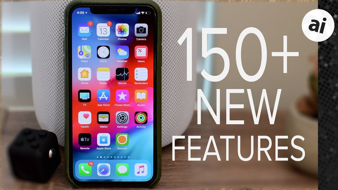 Here are over 150 new features and changes in iOS 12 for
