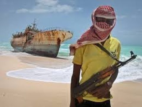 Somali Pirates VS Ship's Private Security Guards D docaimentry HD 2017
