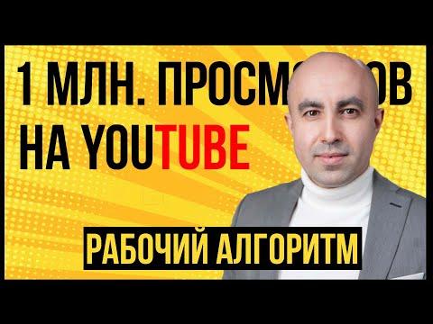 Как работает алгоритм органики продвижение видео на Youtube | 1 вариант Главная страница
