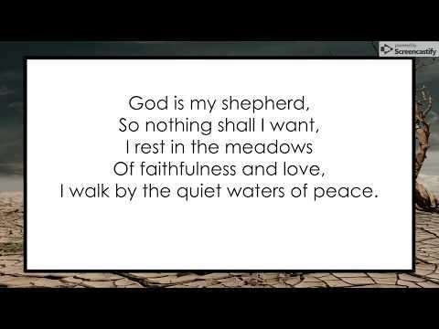 Shepherd Me, O God | Haugen | Lyrics