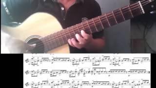 [Guitar]Hướng dẫn:tự tập guitar-full elise guitar_letinh#4