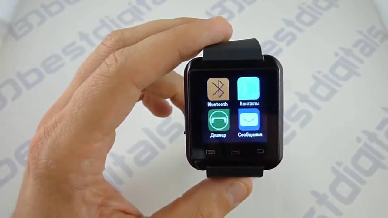 Обзор часов smart watch u8 фото