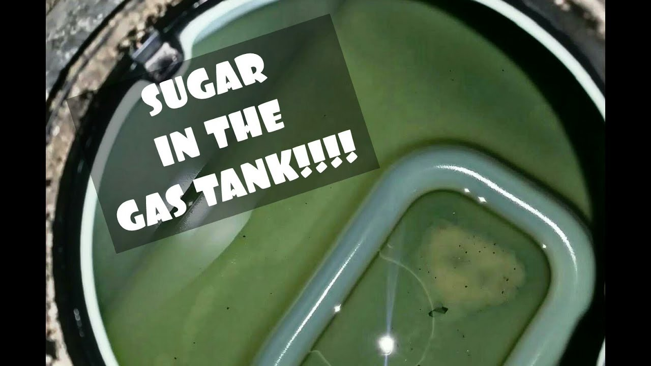 Fix Sugar In The Gas Tank What Happens Youtube