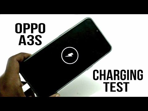 Oppo A3s Battery Charging test in Hindi