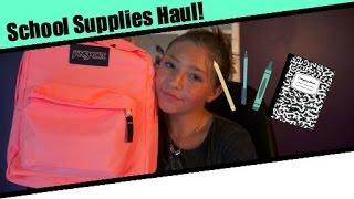 Back To School Haul | Reilly Koebel