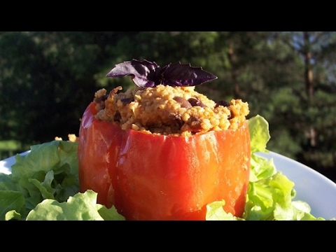 Easy Millet-Stuffed Peppers Recipe