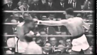 Clay Liston Feb 25, 1964  Round 3  with original radio broadcast