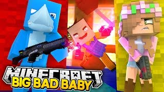 Minecraft BIG BAD BABY - RAMONA SELLS THE CASTLE TO THE EVIL BABY NEIGHBOUR !!!
