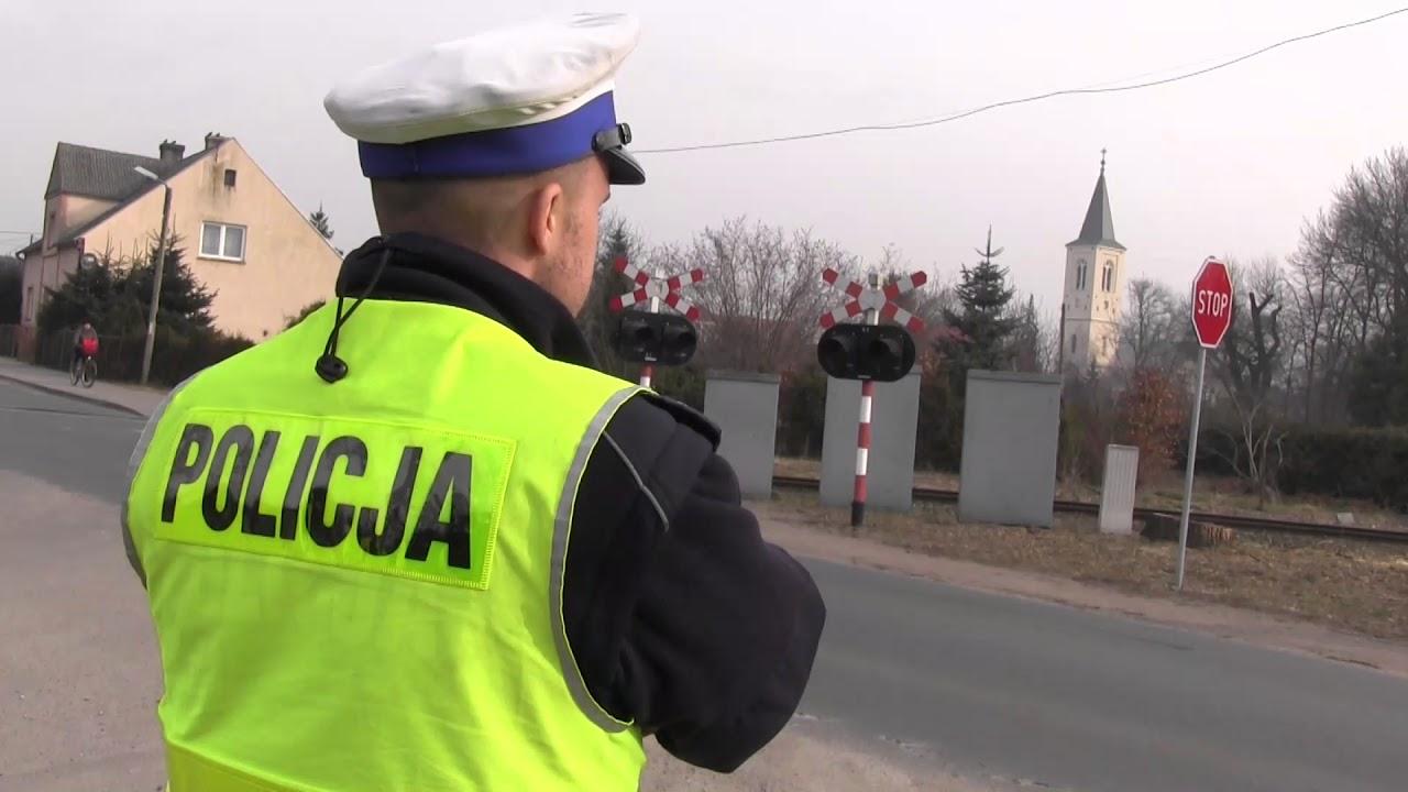Przepisowo znaczy bezpiecznie – przejazdy kolejowe pod okiem lubuskich policjantów
