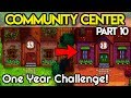 🏆Community Center ONE Year Challenge #10🏆- *SECRET WOODS!* - Stardew Valley