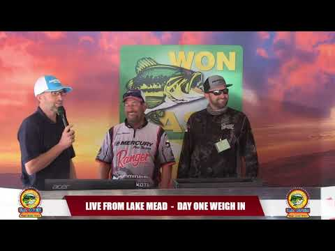 2019 WON BASS U.S. OPEN DAY ONE WEIGH IN