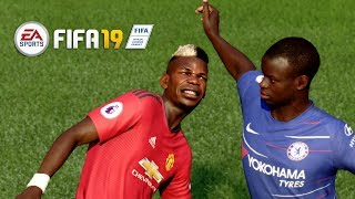 FIFA 19 Realistic   🔥 Chelsea vs Manchester United - EPL 20/10/2018    Live Broadcast Camera
