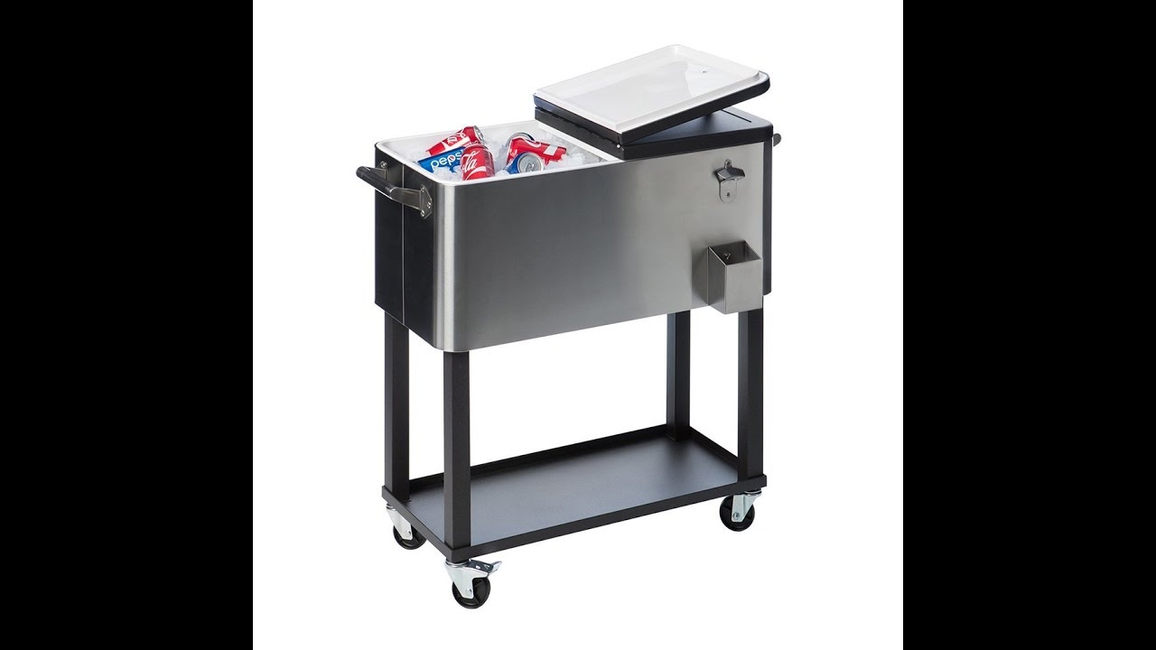 Review Trinity Txk 0802 Stainless Steel Cooler With Shelf