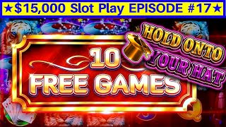 Hold Onto Your Hat Lock It Link Slot Live Play & Bonus | EPISODE-17 | Live Slot Play w/NG Slot