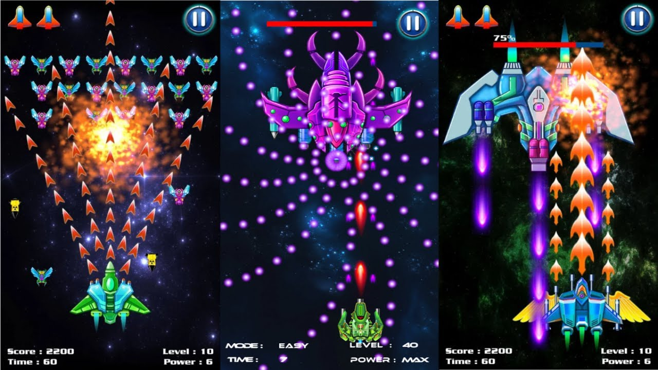 ApkMod1.Com Galaxy Attack: Alien Shooter v5.76 + MOD (Mod Money) download free Android Arcade Game