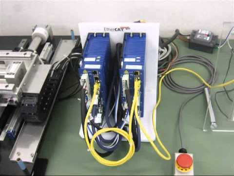 High-Speed Shaft Motor Stage controlled by Soft Servo EtherCAT CNC