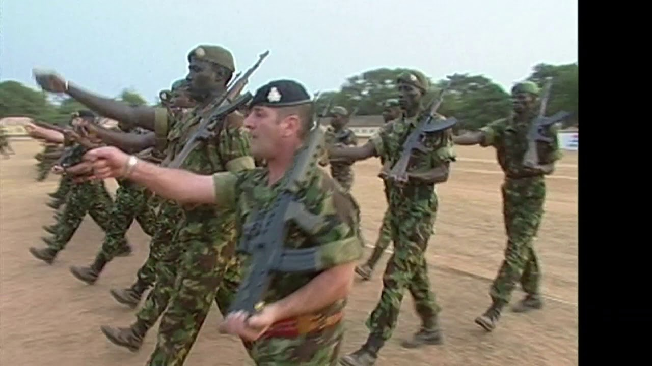 rg soldiers mentor gambian armed forces