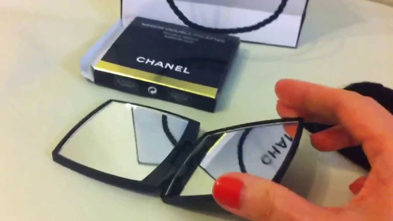 Chanel mirror duo youtube for Double mirror effect