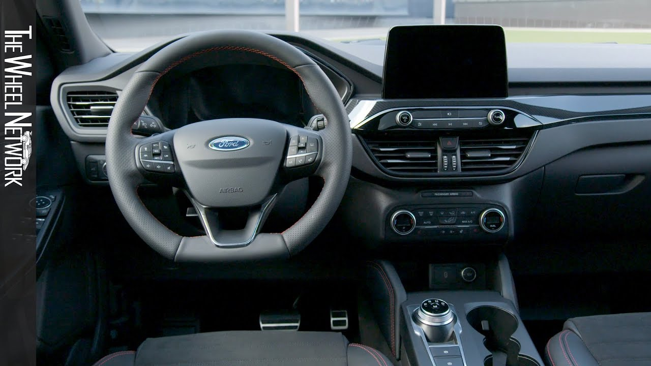 2020 Ford Kuga Plug In Hybrid St Line Interior Eu Spec