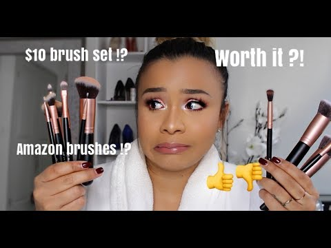 Amazon Brush Set Try Out || Review!