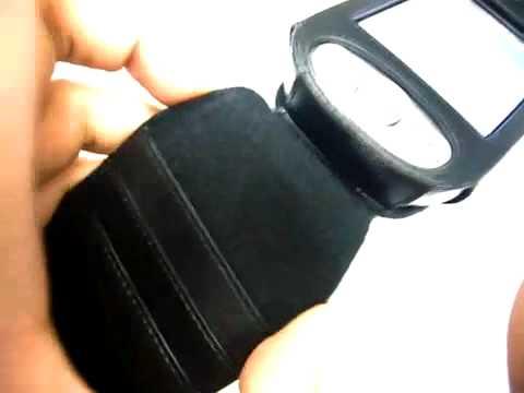 Capa de couro Premium Full proteção Vertical para HTC Panda P6300 Dopod E616