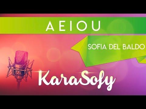 AEIOU karaoke - Sofia Del Baldo - Canzoni per bambini - Baby music songs