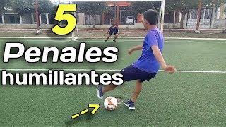 Top 5 Penales Mas Humillantes en la Historia del Fútbol/Zurdo 07