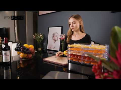 Vivohome Electric 400w 8 Trays Food Dehydrator Machine For Fruit Vegetable Meat Beef Jerky Maker Youtube