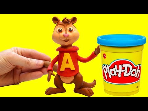 Alvin and The Chipmunks Stop motion cartoon Alvin y las ardillas funny video