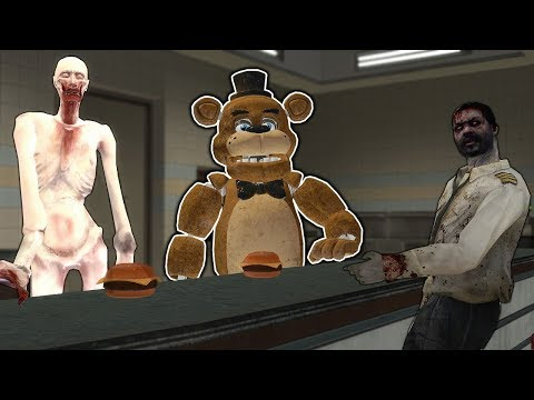 We Hired SCP to Help Us Feed Zombies in Gmod! - Garry's Mod Gameplay