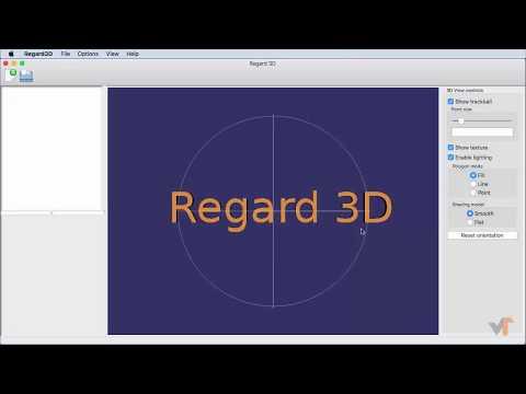 3.1 Introduction to Regard3D