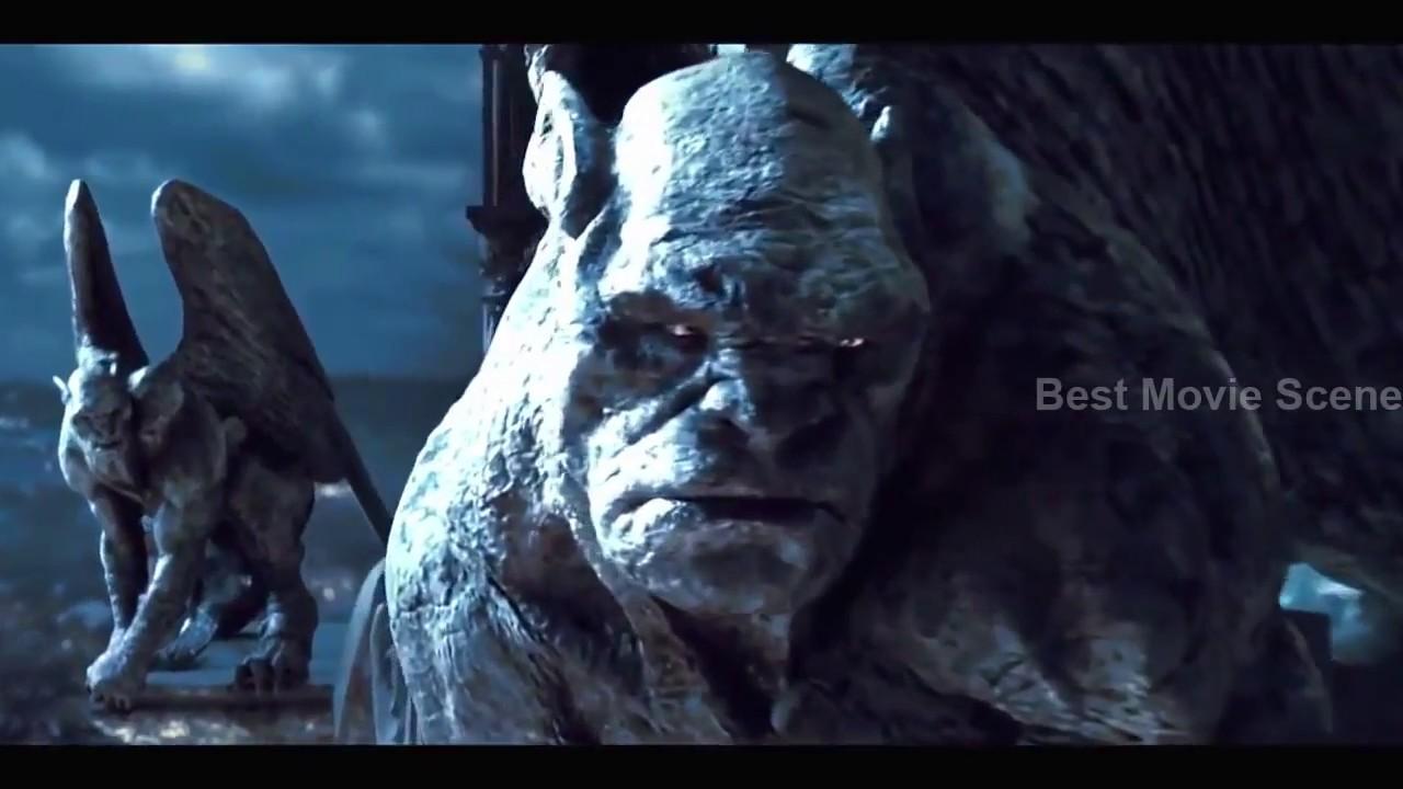 best movie scene hd beast demon vs gargoyles youtube