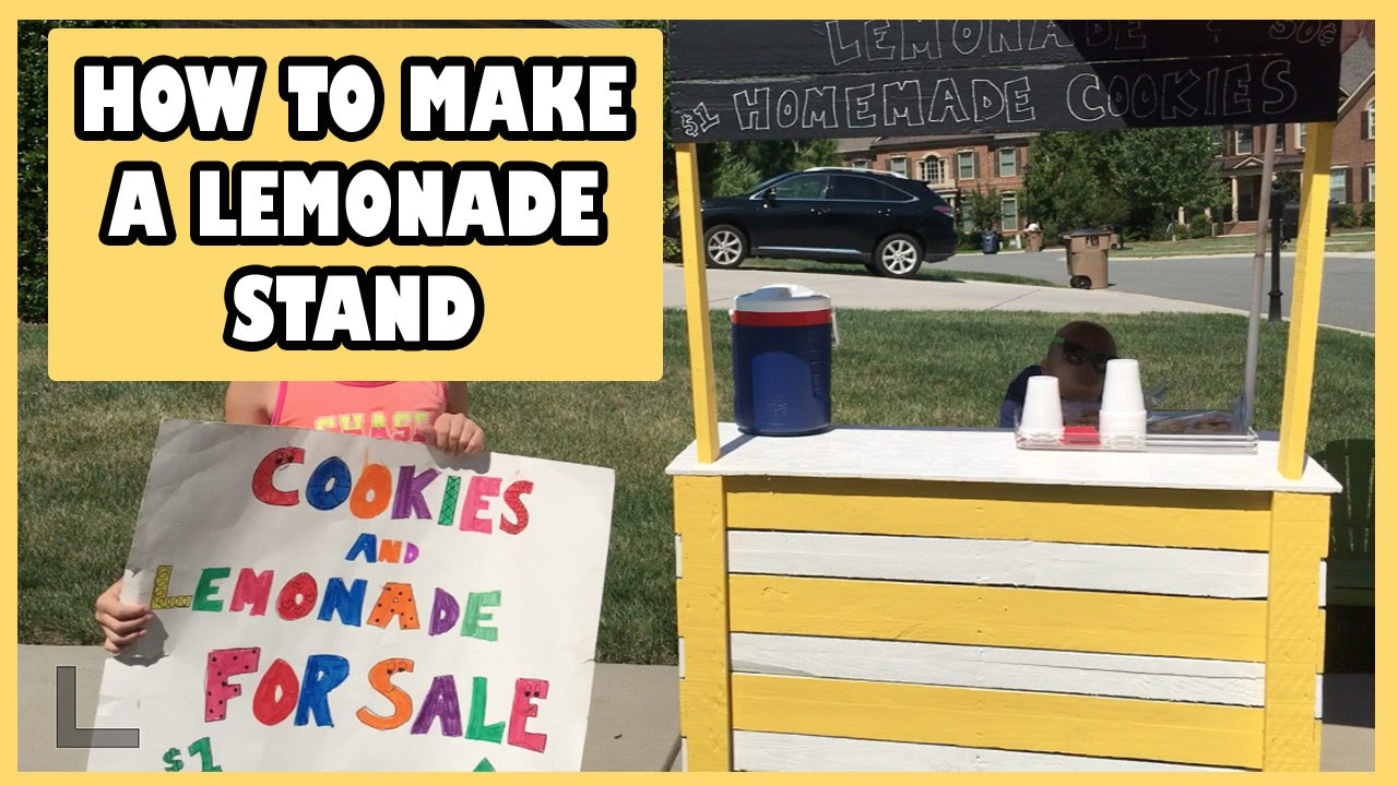 How We Made a CHEAP Lemonade Stand and Made BIG Money! WEEKLY VLOG ...