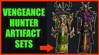 Aldrachi Warblade Transmog   Vengeance Demon Hunter WoW Legion Sets