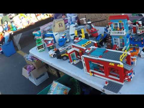Flea Market Hunting (Toys, antiques, Video games)