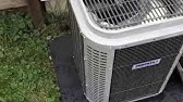 TempStar Condenser Fan Motor Replacement - YouTube on