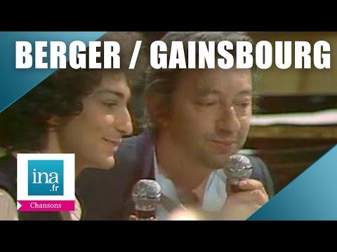 Michel Berger et Serge Gainsbourg 'Duo  inédit autour d'un piano' | Archive INA