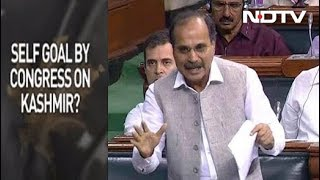 Congress Blunder In Parliament As It Questions Government Over Kashmir