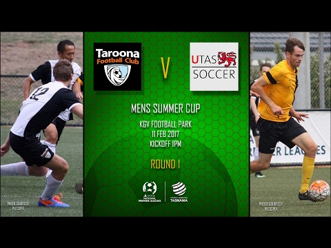 2017 Mens Summer Cup Round 1 Taroona v University