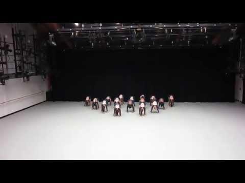 Harvard Crimson Dance Team Nationals Routine 2015