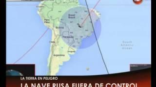 Canal 26 -Ya se conoce cuándo caerá a la Tierra el satélite ruso fuera de control