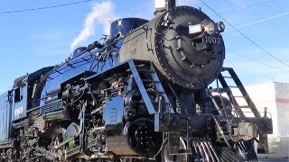 SOO Line #1003 Steam Locomotive In Action