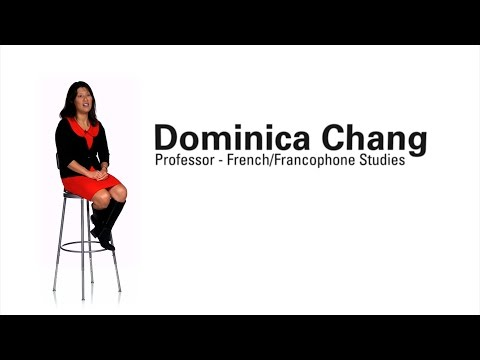 Faculty Profile - Dominica Chang (Professor of French/Francophone Studies)