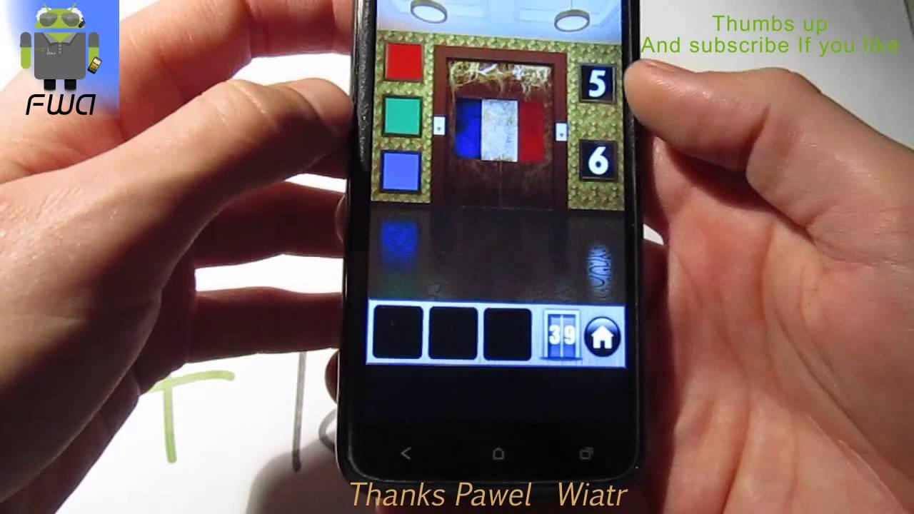 100 doors of revenge level 39 solution explanation for 100 doors door 4 solution