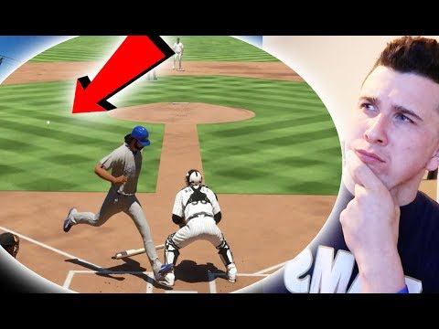 Can I Hit A Grand Slam Inside The Park Home Run? MLB The Show 17 Challenge