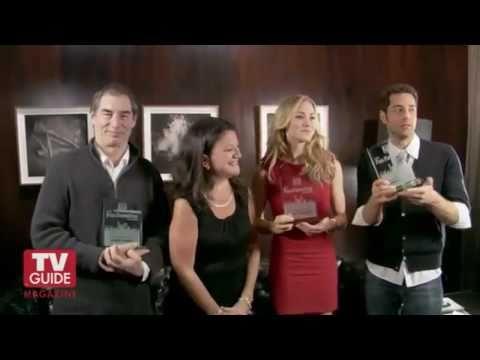 TV Guide Awards 2011 Yvonne Strahovski, Zachary Levi & Timothy Dalton